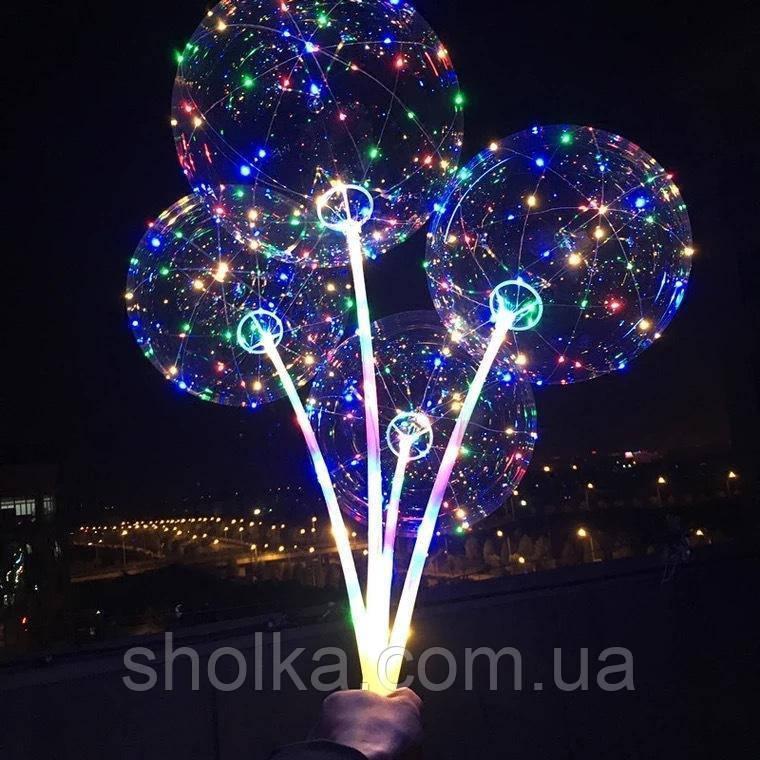 Шарики воздушные с подсветкой ROUND BOBO-BALLOONS