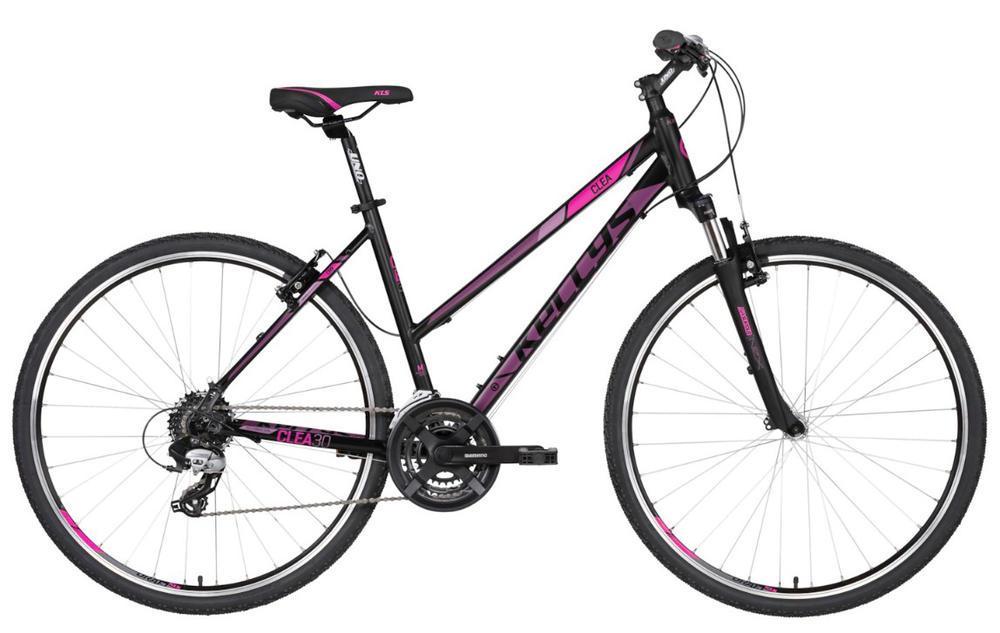 Велосипед Kellys 2019 Clea 30 Black Pink S (17˝)