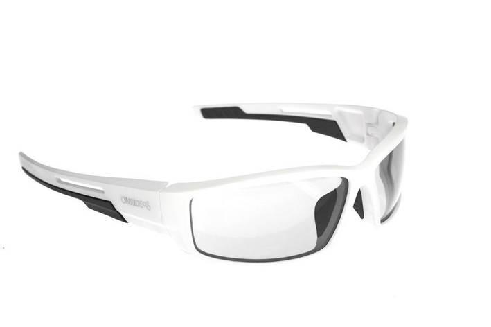 Окуляри ONRIDE Point матовий білий/чорний з лінзами Clear, фото 2
