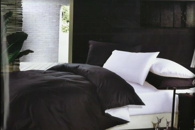 Постельное белье Сатин BLACK + WHITE, евро