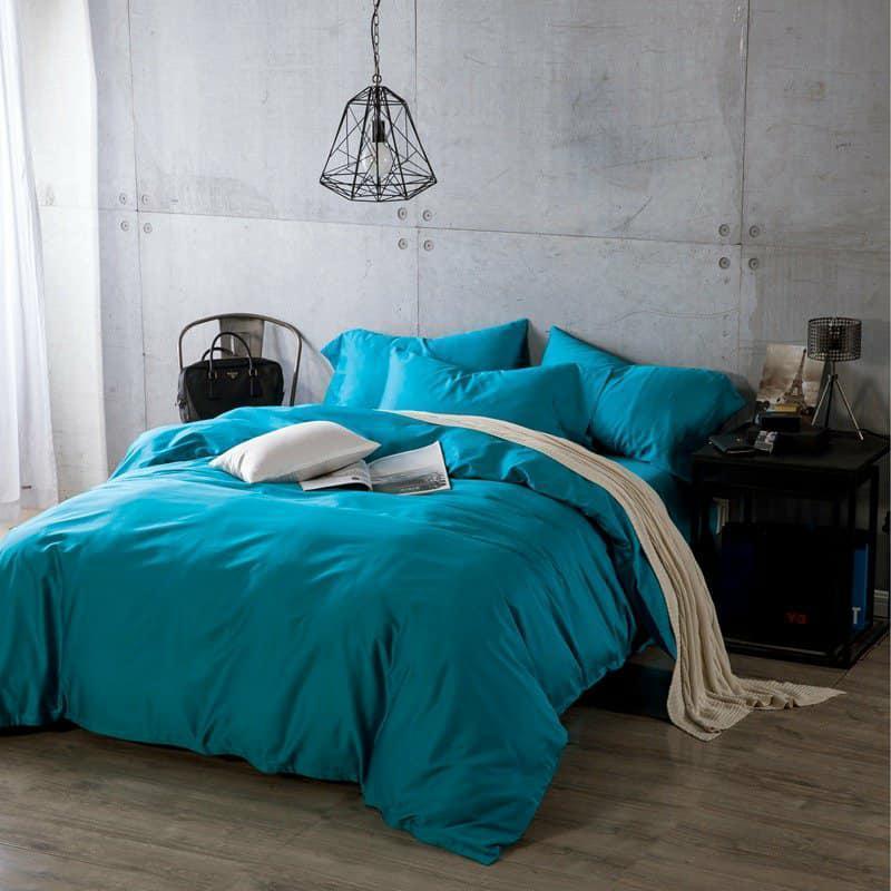 Однотонное постельное белье  из сатина TIFFANI Тифани, разные размеры
