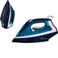 Утюг Domotec MS 2228 2200W Керамическое покрытие Синий КАЧЕСТВО, фото 1