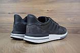 Мужские кроссовки в стиле  Adidas ZX 500 серые, фото 5