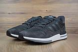 Мужские кроссовки в стиле  Adidas ZX 500 серые, фото 6