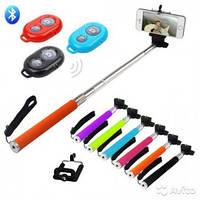 Монопод Селфи Monopod для смартфонов и экшн камер Z07-1 черный, фото 1