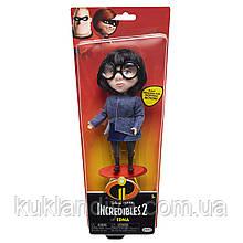 Кукла Эдна в модном синем костюме Суперсемейка 2 / The Incredibles 2 Edna
