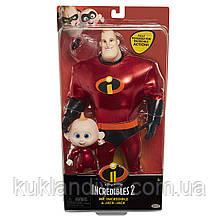 Набор кукол Мистер Исключительный и Джек-Джек Суперсемейка 2 / The Incredibles 2 Mr.Incredible & Jack-Jack