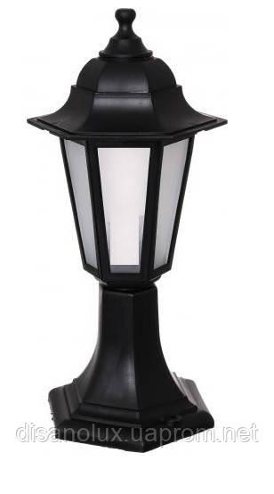 Светильник  Парковый НГ06 60вт. мат стекло /черный
