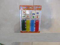 Набор школьника, счетные палочки, дерево, M02577