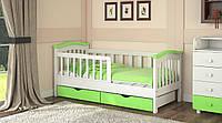 Детская кровать от 3 лет с бортиками 160*70 см