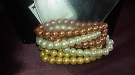 Модный браслет с жемчужинами