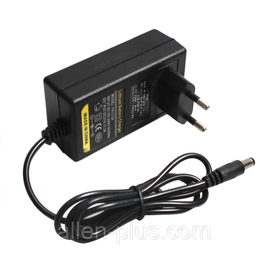 Зарядний пристрій YH-2120 для Li-Ion, 21/2A, штекер 5,5*2,1 мм
