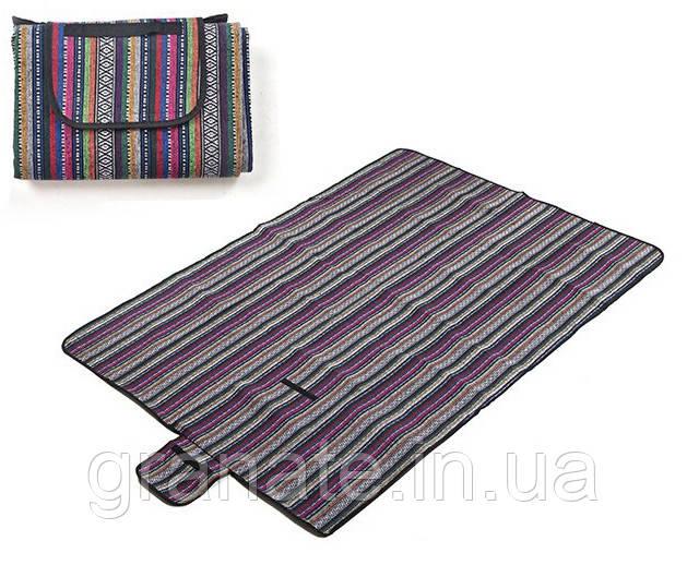 Пляжный коврик, коврик для пикника 200х150 см