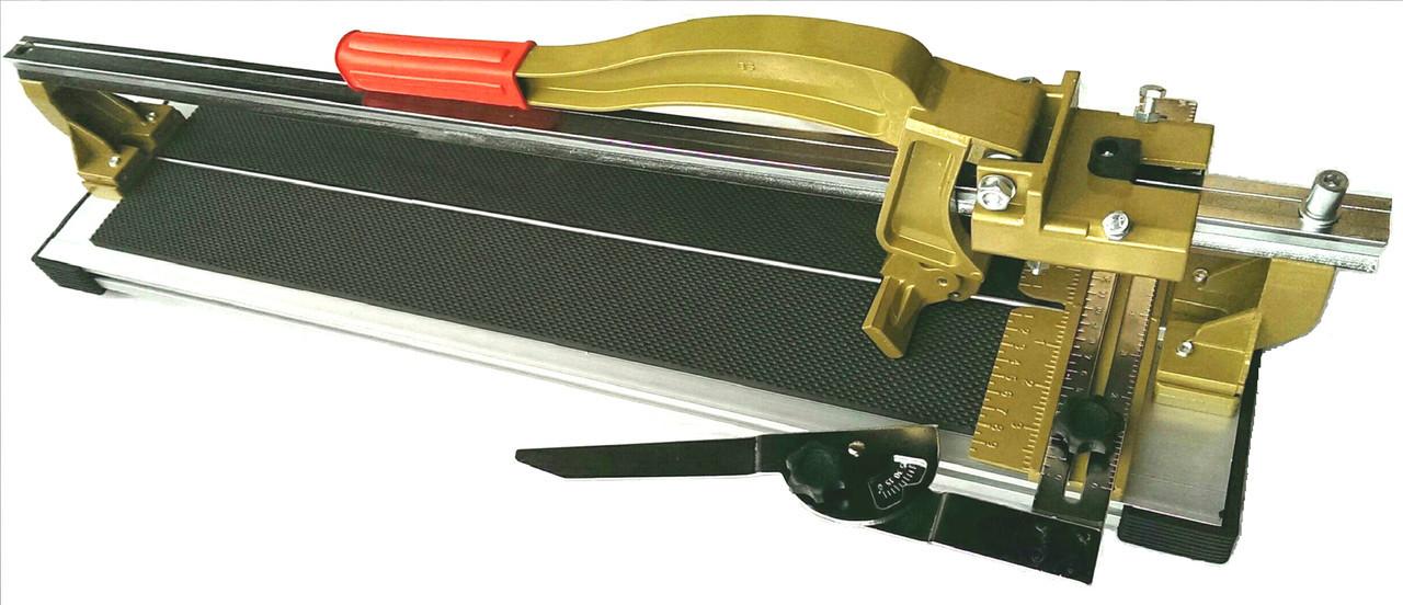 Плиткорез алюминиевый серии Prof Line, 800 мм, регулируемые подшипники
