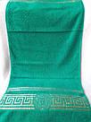 Рушник Версаче зелений 50х90, фото 2