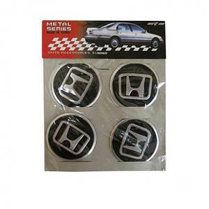 Эмблемы металлические на колпаки Honda цена за 4 шт