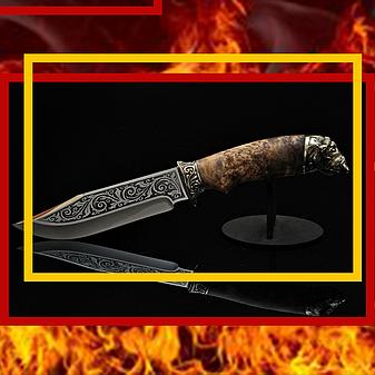 "Нож ручной работы ""Буйвол-3"", 40Х13, фото 2"