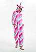 Кигуруми пижама взрослая единорог розовый звезды S, фото 3