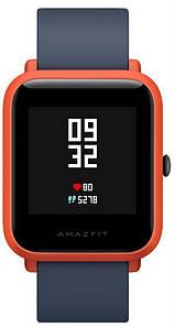 Умные часы Xiaomi Amazfit Bip Cinnabar Red (UYG4022RT), 1.28 (176 x 176) сенсорный / Mediatek / Bluetooth 4.0 / Wi-Fi, GPS, GLONASS / 110 х 20 х 8 мм,