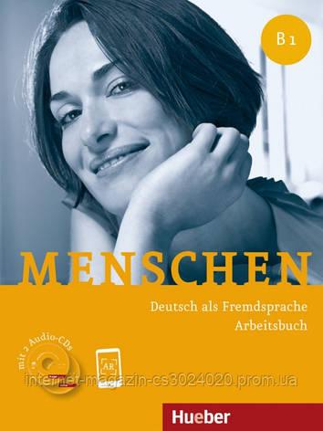 Menschen B1, Arbeitsbuch mit 2 Audio-CDs ISBN: 9783191119034, фото 2