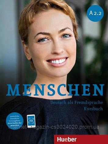 Menschen A2/2, Kursbuch mit DVD-ROM ISBN: 9783195019026, фото 2