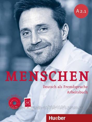 Menschen A2/1, Arbeitsbuch mit 2 Audio-CDs ISBN: 9783193119025 , фото 2