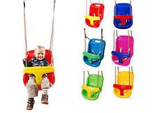 Качели детские колыбельные Just Fun 2в1, фото 3