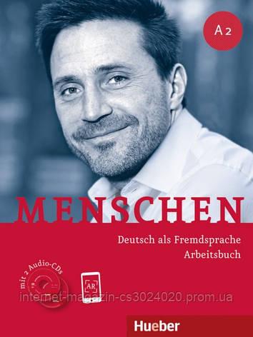 Menschen A2, Arbeitsbuch mit 2 Audio-CDs ISBN: 9783191119027, фото 2
