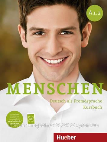Menschen A1/2, Kursbuch mit DVD-ROM ISBN: 9783195019019, фото 2