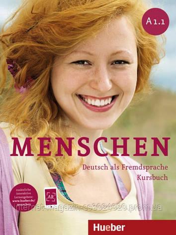 Menschen A1/1, Kursbuch mit DVD-ROM ISBN: 9783193019011, фото 2