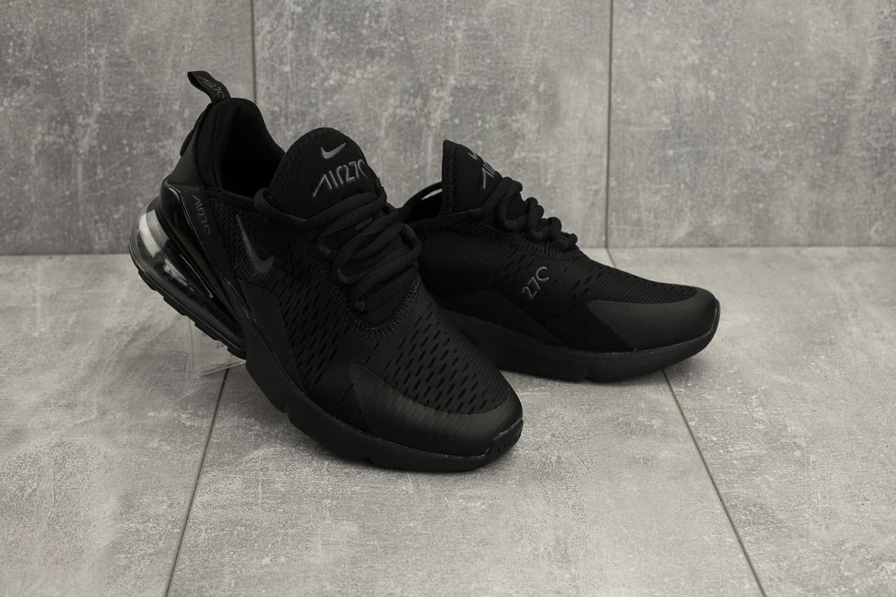 Кроссовки G 5074 -10 (Nike AirMax 270) (весна/осень, мужские, текстиль, черный)