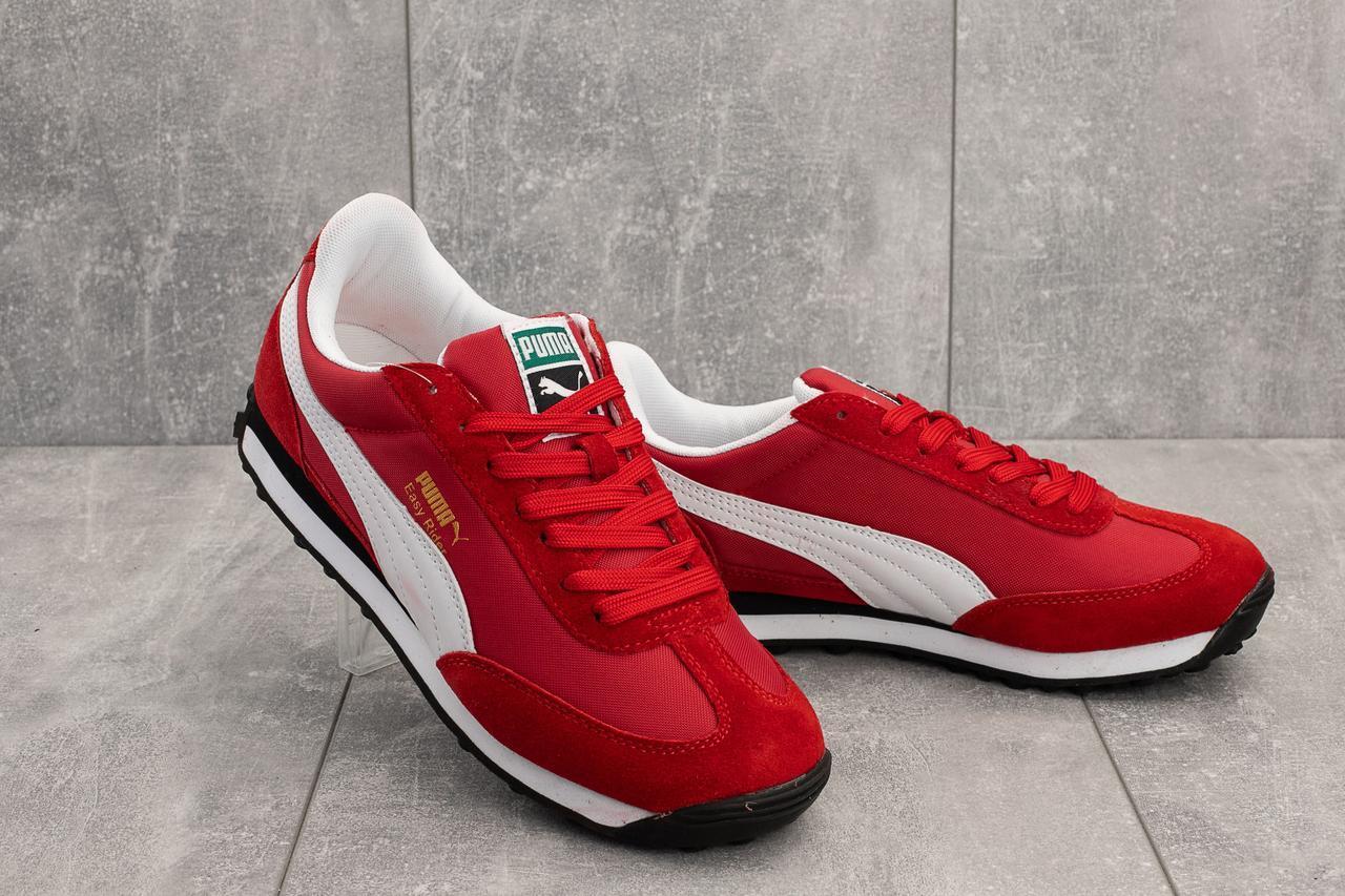 Кроссовки A 640 -5 (Puma) (весна/осень, мужские, искусственная замша, красный)