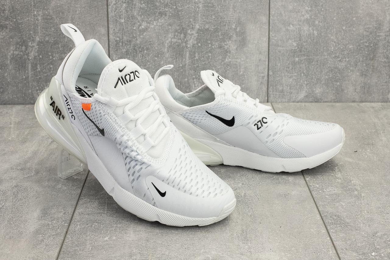 Кроссовки A 936 -2 (Nike Air 270) (весна/осень, мужские, текстиль, белый)