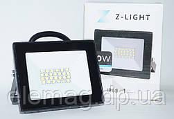 20W Прожектор Світлодіодний Led Z-LIGHT 220V IP65 6500K