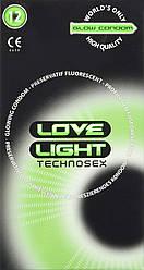 Флуоресцентні презервативи Love Light Glow Kondom (12 шт.)