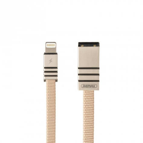 Кабель Remax Weave Series 081i USB - Lightning 1 м, фото 2