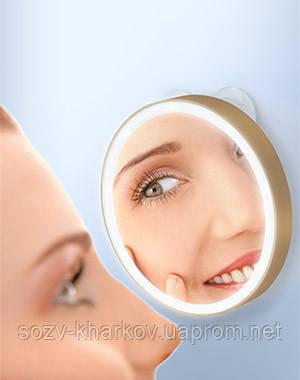 Дзеркало косметологічне 10x, з підсвічуванням, 100 LM, Gezatone