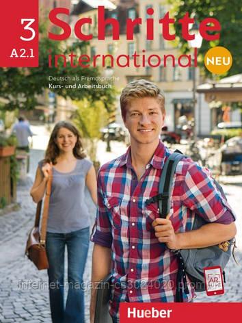 Schritte international Neu 3, Kursbuch + Arbeitsbuch + CD zum Arbeitsbuch ISBN: 9783193010841 , фото 2