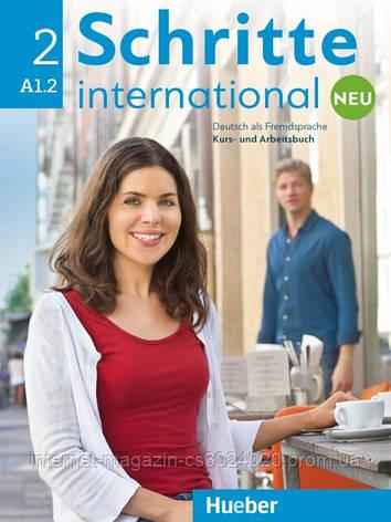 Schritte international Neu 2, Kursbuch + Arbeitsbuch + CD zum Arbeitsbuch ISBN: 9783196010824, фото 2