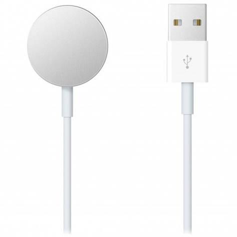 USB-Кабель Apple Watch (magnetic) bar-code:mklg/original/1 m., фото 2