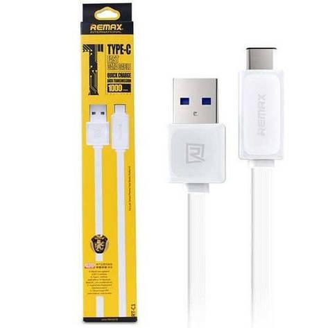 Кабель Remax Fast Data RT-C1 USB - USB Type-C 1 м, фото 2