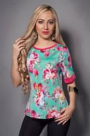 Женская блуза из легкой летней ткани