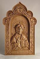 Резная икона Господь Вседержитель (300х192)