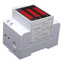 Амперметр-вольтметр-ваттметр переменного тока 100А на микроконтроллере электронный цифровой , фото 1