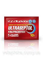 Ультрасептол 10 г порошок комплексный антибиотик для животных и птицы