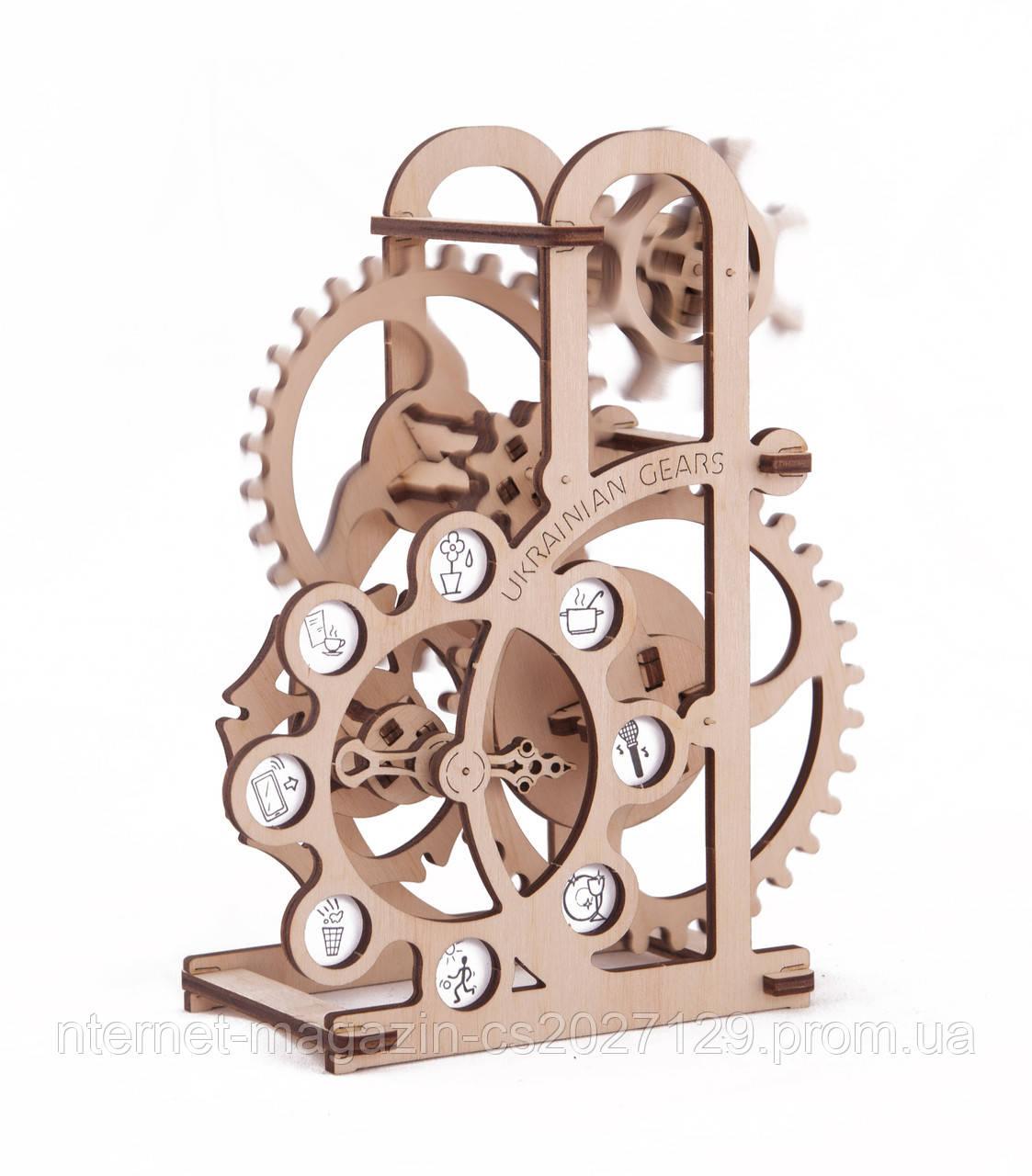 Деревянный конструктор - механический Силомер , фото 1