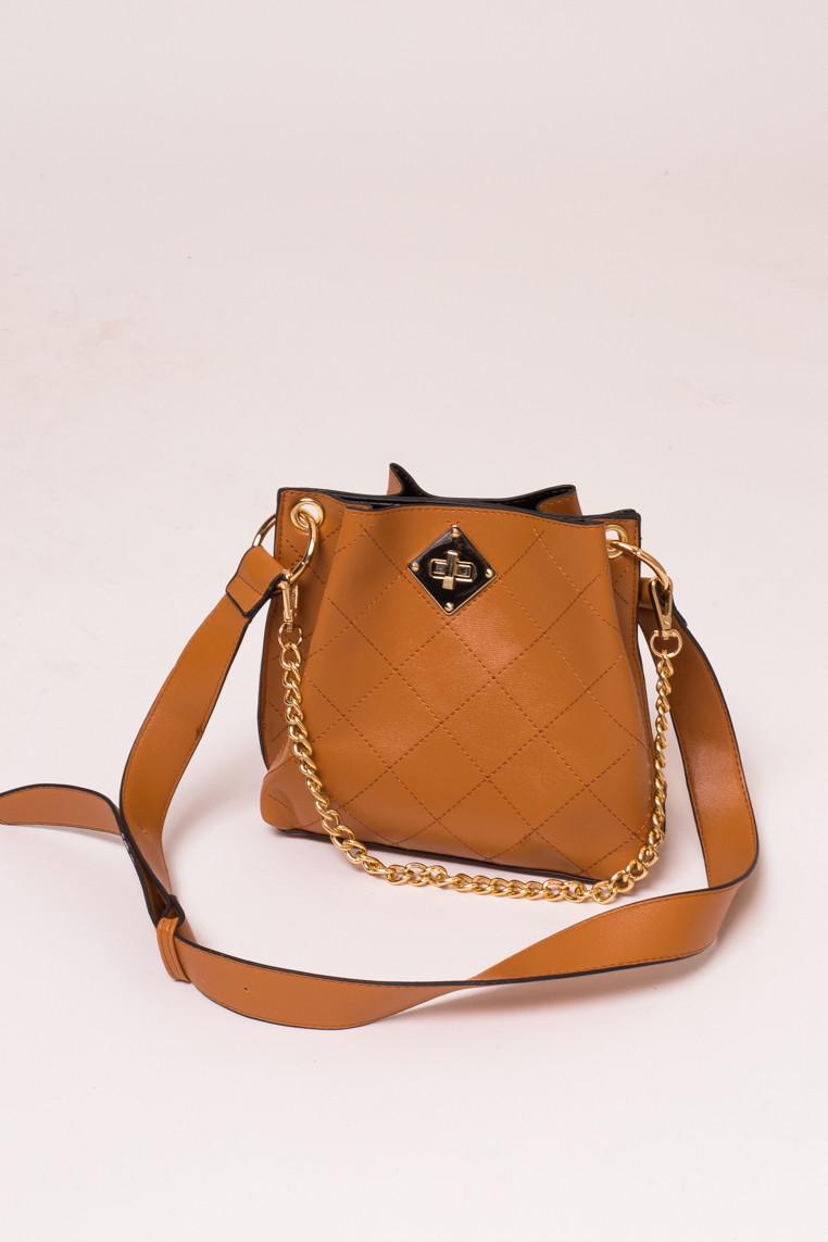 Женская сумка с плечевым ремнем LUREX - св-коричн цвет, Малый (есть размеры)