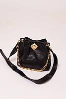 Женская сумка с плечевым ремнем LUREX - черный цвет, Малый (есть размеры)