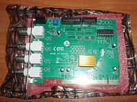 Плата видеонаблюдения pico 2000 Conexant Fusion 878A 4-х канальная плата видеозахвата + 1 аудио Hawell HW-104A
