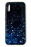 "Чохол-панель Dengos (Back Cover) ""Glam"" для Huawei Y6 2019, синій калейдоскоп, фото 2"